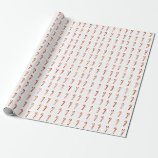 Gift Wrap - Candy Canes