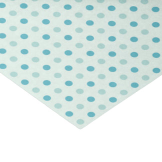 Gift Wrap - Teal Circles/Dots (1) Tissue Paper