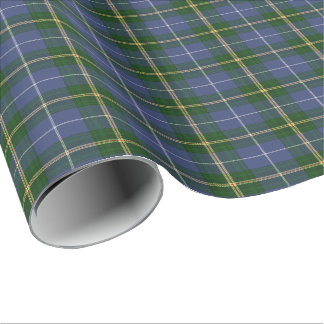 gift wrap Wrapping Paper  blue Nova Scotia Tartan