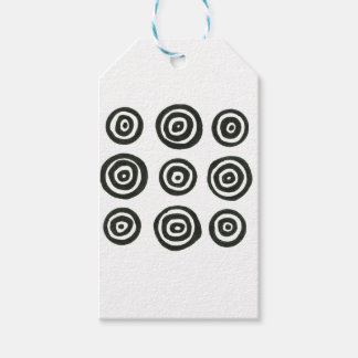 Gift wrapping edition with Circles Pack Of Gift Tags