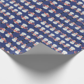 Gift Wrapping Paper Christmas Snowman