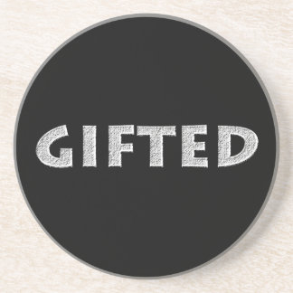 Gifted concept. coaster