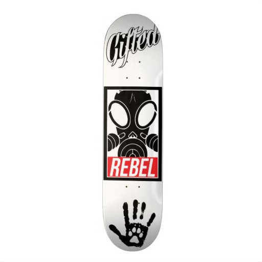 Gifted Rebel Deck Custom Skate Board