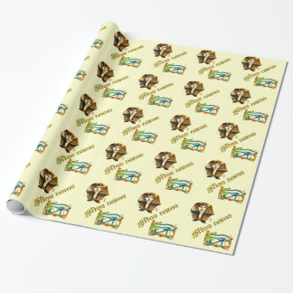 Giftee Name, Egyptian Theme Wrapping Paper