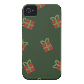 Gifts and stars pattern iPhone 4 cover