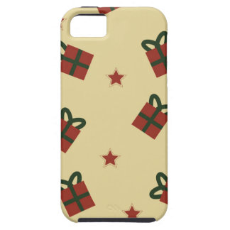 Gifts and stars pattern iPhone 5 case
