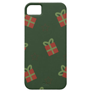Gifts and stars pattern iPhone 5 cases