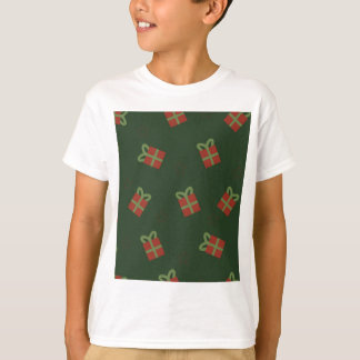 Gifts and stars pattern T-Shirt