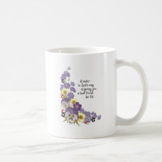 Gifts for a sister coffee mug