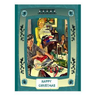 Gifts for Christmas Postcard