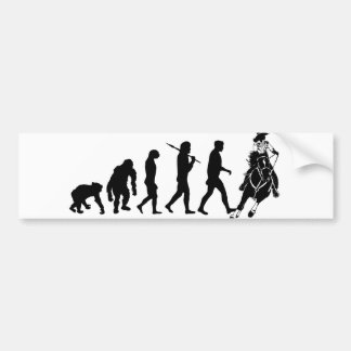 Gifts for cowgirls and ranchers bumper sticker