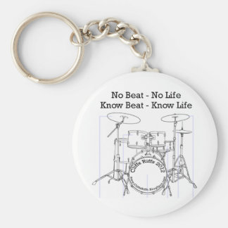 Gifts for Drummers, Musicians, and Dancers Basic Round Button Keychain