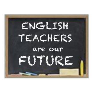 GIFTS FOR ENGLISH TEACHERS POSTCARD
