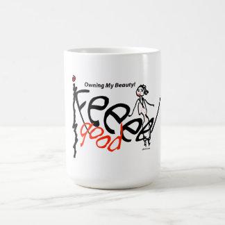 gifts for feeling good basic white mug