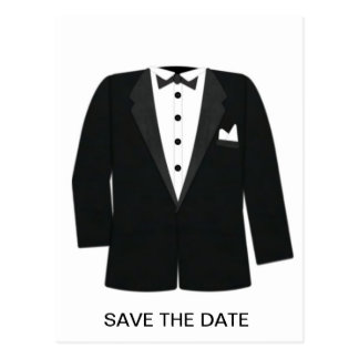 GIFTS FOR GROOM'S OR BLACK TIE EVENTS POSTCARD