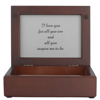 Gifts for Her Keepsake Box
