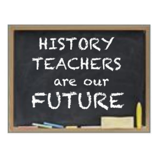GIFTS FOR HISTORY TEACHERS POSTCARD
