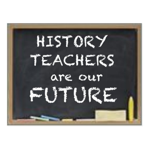 GIFTS FOR HISTORY TEACHERS POST CARD