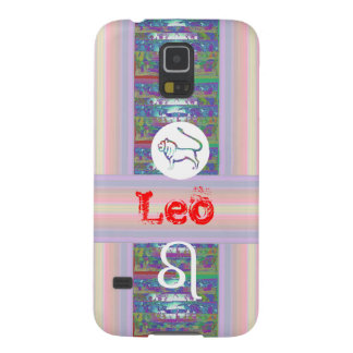 Gifts for LEO - - Birth Star Symbol Galaxy S5 Cover