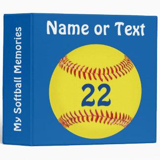 Gifts for Softball Players Softball Binders
