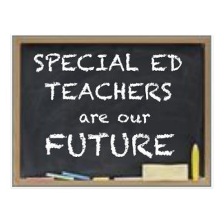 GIFTS FOR SPECIAL ED TEACHERS POSTCARD