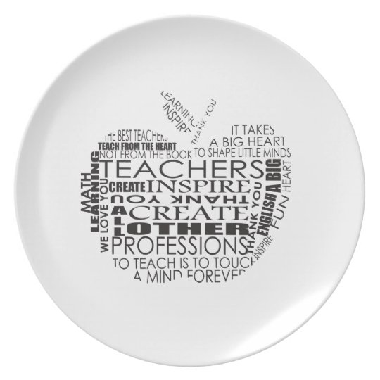 Gifts for Teachers Plate
