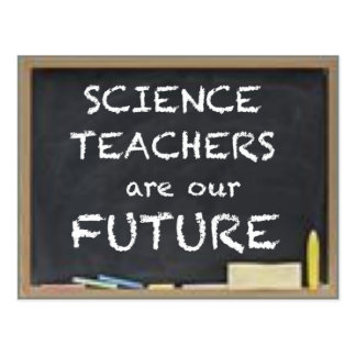 GIFTS FOR TEACHERS (SCIENCE) POSTCARD