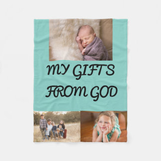 Gifts From God Fleece Blanket