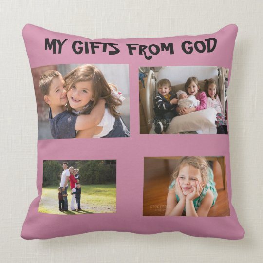 Gifts From God Throw Pillow