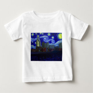"""Gifts: """"Nashville Starry Night"""" by Jack Lepper Baby T-Shirt"""