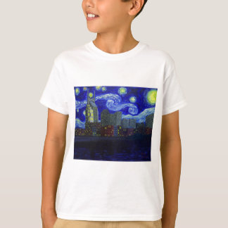 """Gifts: """"Nashville Starry Night"""" by Jack Lepper Tee Shirt"""