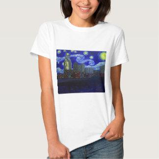 "Gifts: ""Nashville Starry Night"" by Jack Lepper Tshirt"