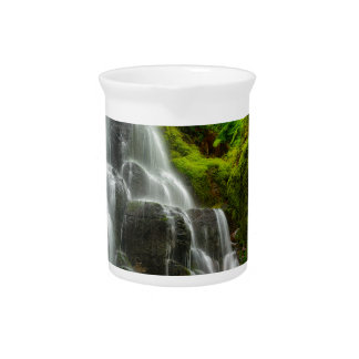 Gifts of Nature Forest Waterfall Drink Pitchers