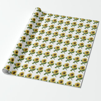 Giftwrap:  Sunflowers Wrapping Paper