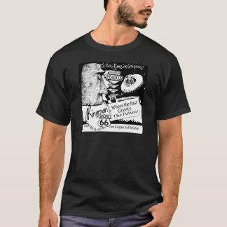 Giganticus Headicus Route 66 Alien UFO T-Shirt