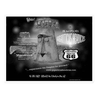 Giganticus Headicus Route 66 Postcard