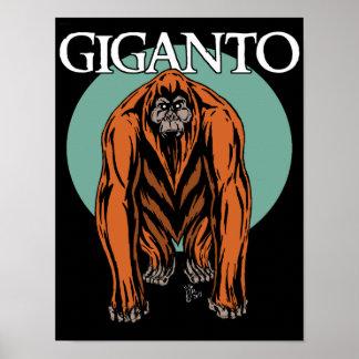 Gigantopithecus Poster