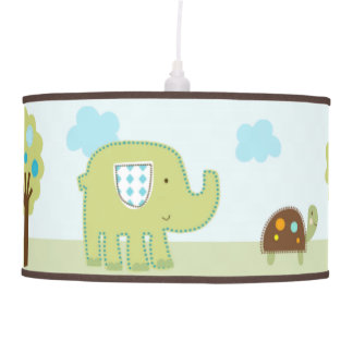 Giggle Gang Animals Baby Nursery Pendant Lamp