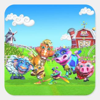GiggleBellie Farm Animals Stickers