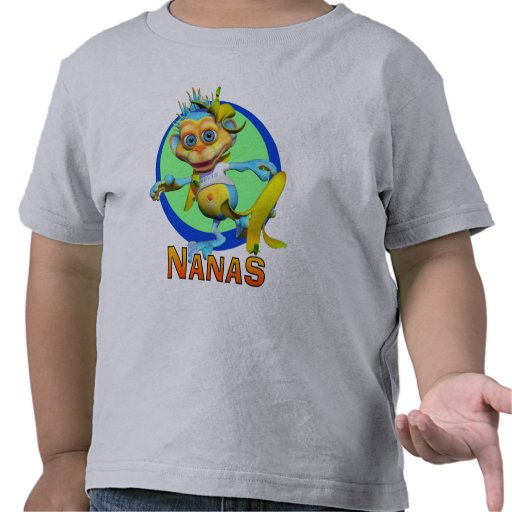 GiggleBellies Nanas the Monkey T Shirts