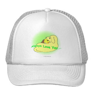 gigglePuppy and Mother's Day Trucker Hat