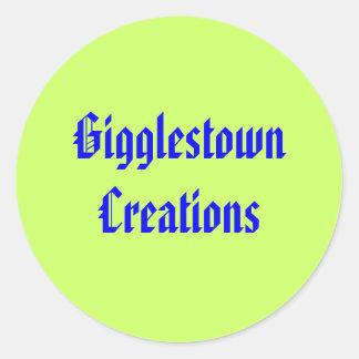 Gigglestown Creations Sticker Sheet