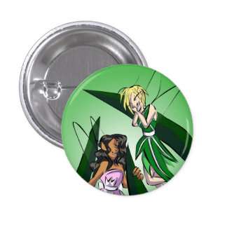 Giggling Fairies 1 Inch Round Button