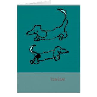 giggly pebcillas! card