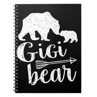 Gigi Bear Cute Great Grandma Gift Notebook