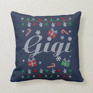 Gigi Christmas Throw Pillow
