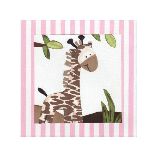 GiGi Giraffe Canvas Art Canvas Prints
