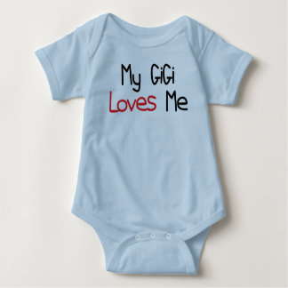 GiGi Loves Me Baby Bodysuit
