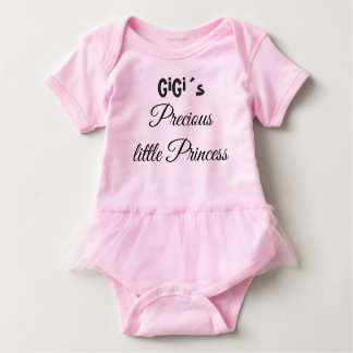 GIGI´S LITTLE PRINCESS, GRANDMA´S BABY GIRL PINK BABY BODYSUIT