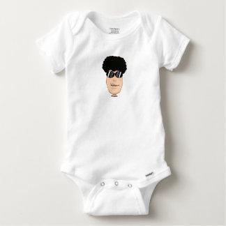 Gigi style baby onesie